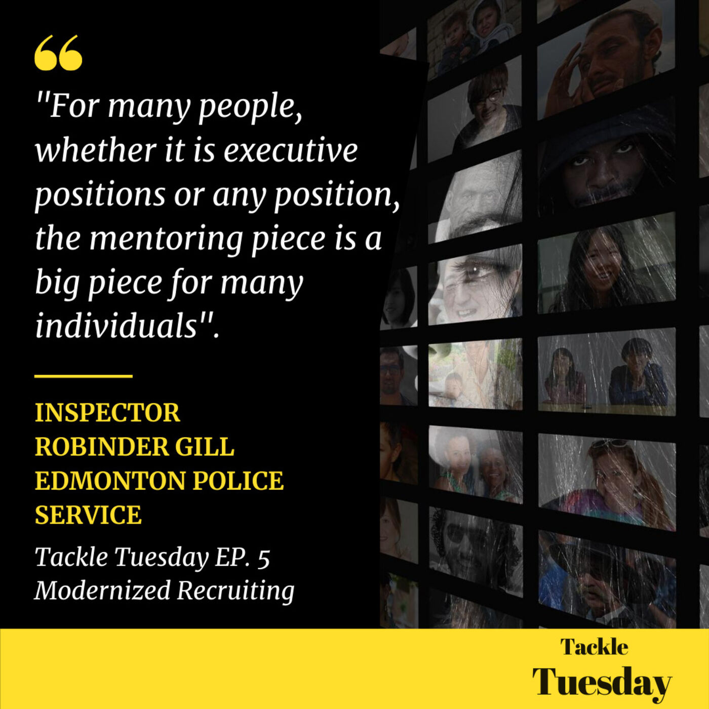 Ep. 5: How One Police Service Modernized Recruiting with Mentoring