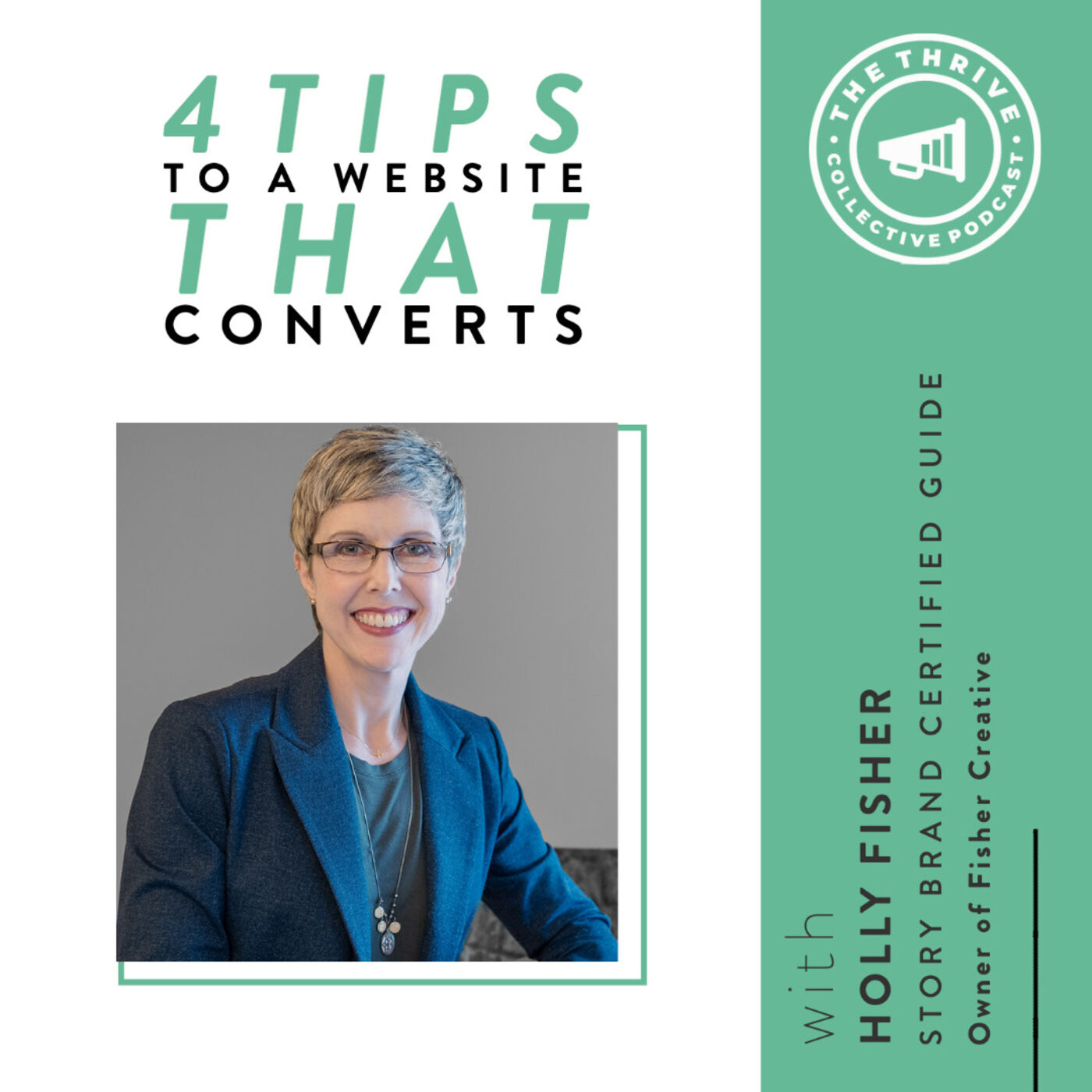 4 Tips to a Website that Converts with Holly Fisher