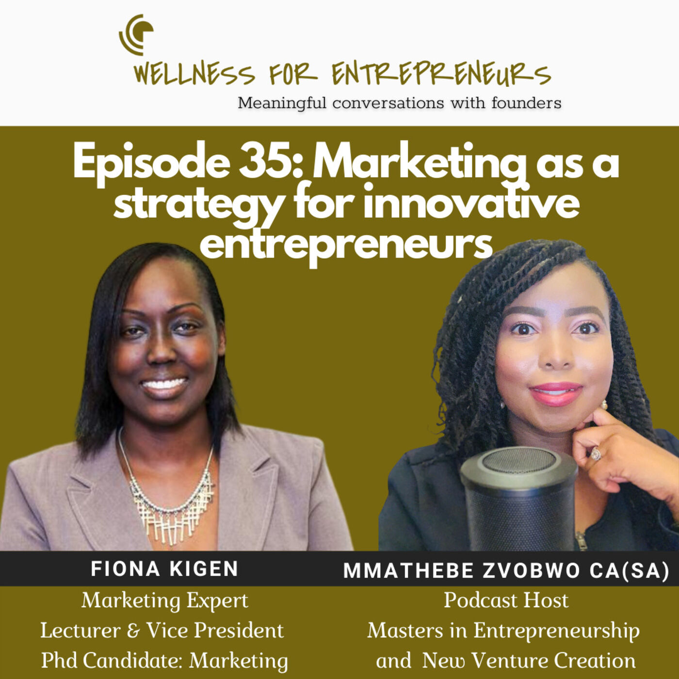 Episode 35: Marketing as a strategy for innovative entrepreneurs, with Fiona Kigen