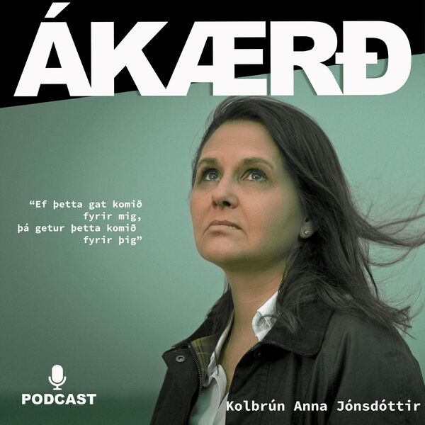 Ákærð Podcast Artwork Image