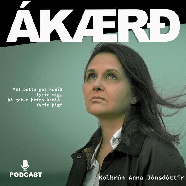 Ákærð Podcast Artwork Image