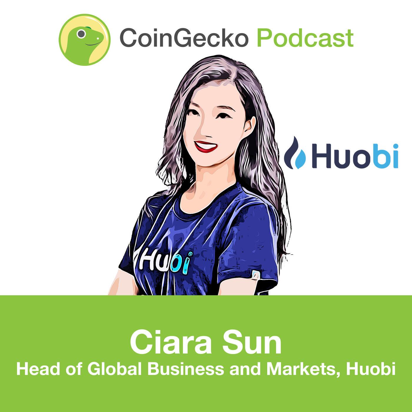 Ciara Sun of Huobi talks about the Huobi Ecosystem - Ep. 14