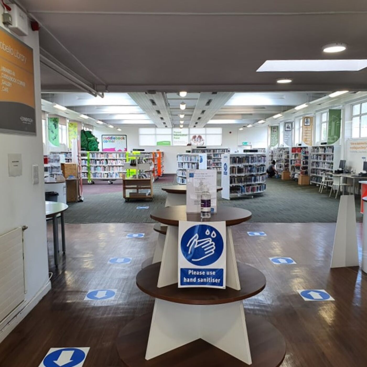 213 Porty Library Re-opens