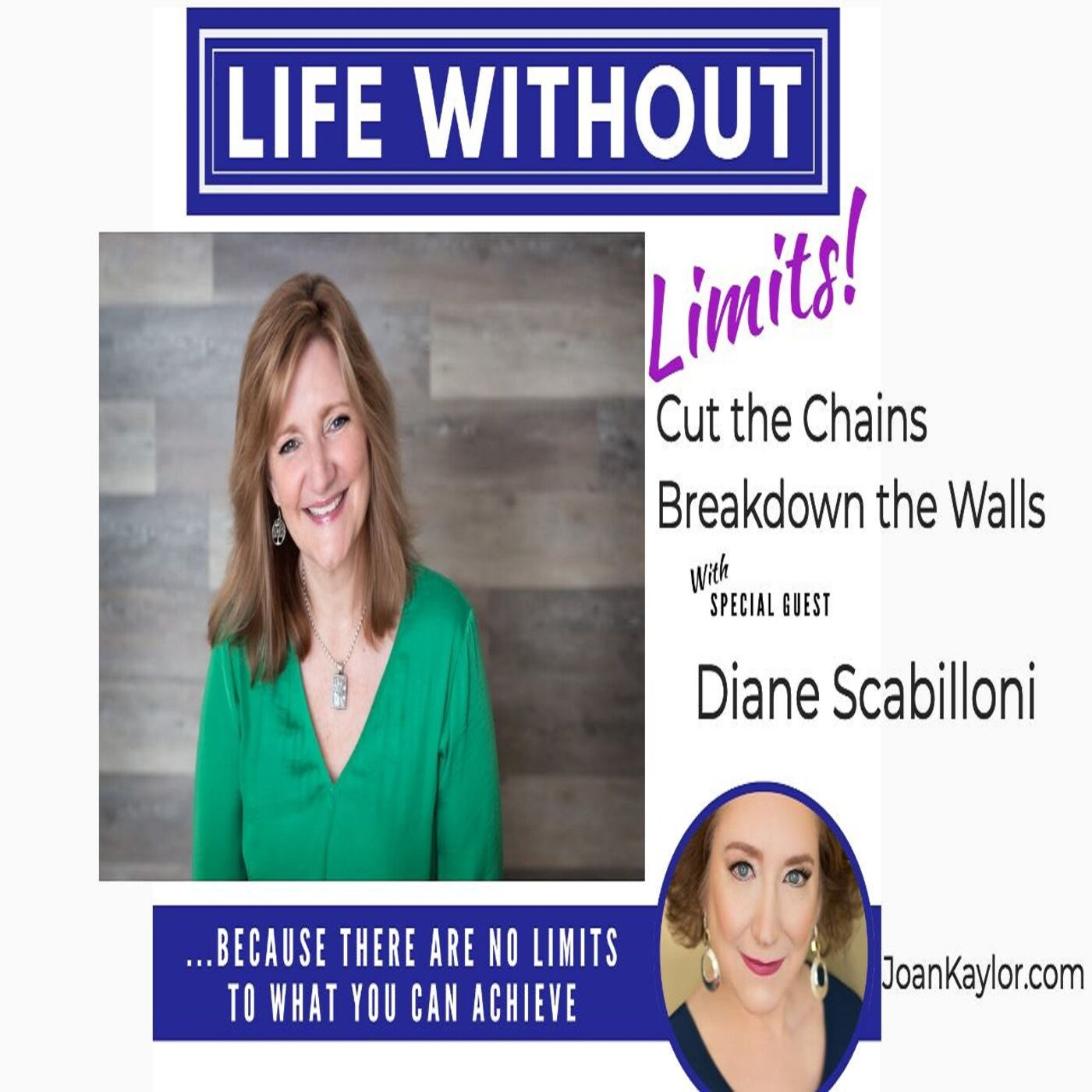 Cut the Chains/ Break Down the Walls with Diane Scabilloni