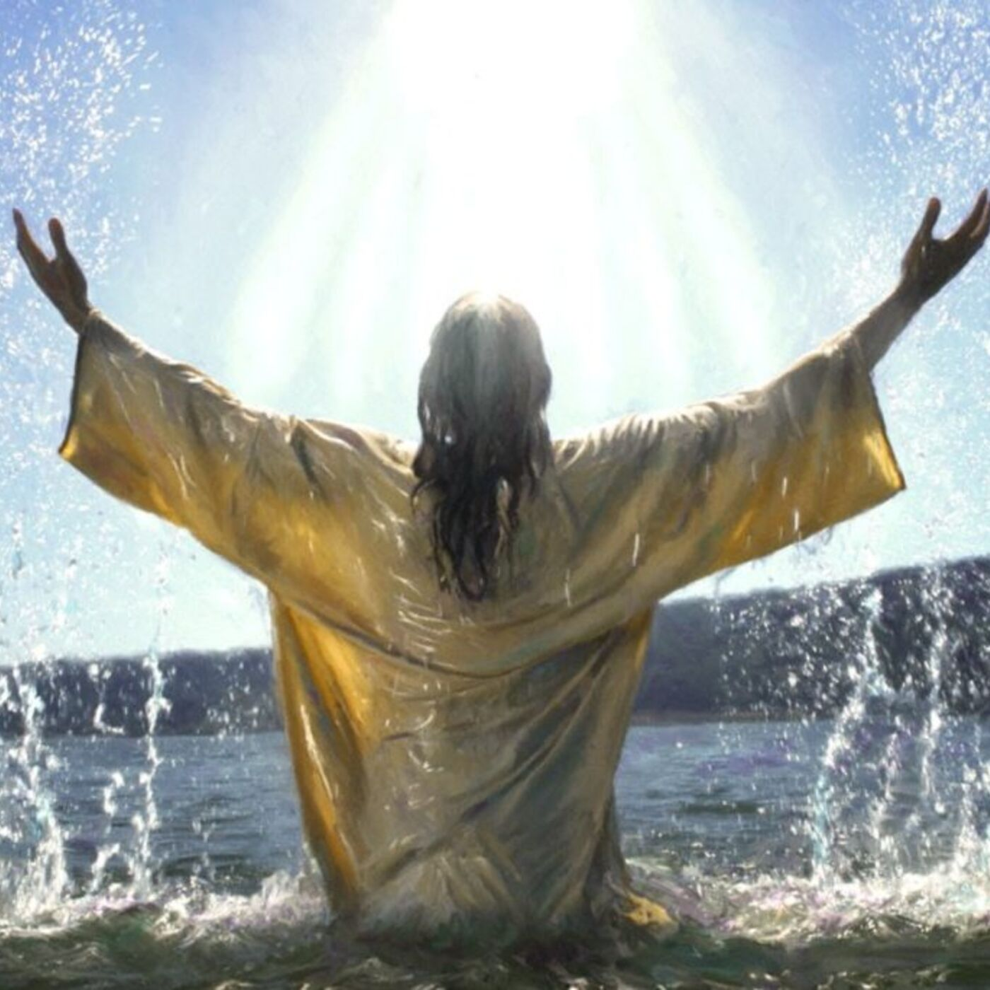 Holy Spirit Baptism, Jesus Our Example