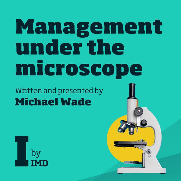Management Under The Microscope Podcast Artwork Image