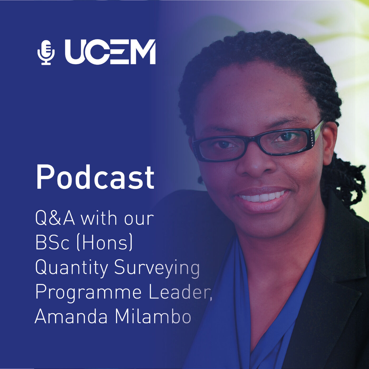 Q&A with our BSc (Hons) Quantity Surveying Programme Leader, Amanda Milambo