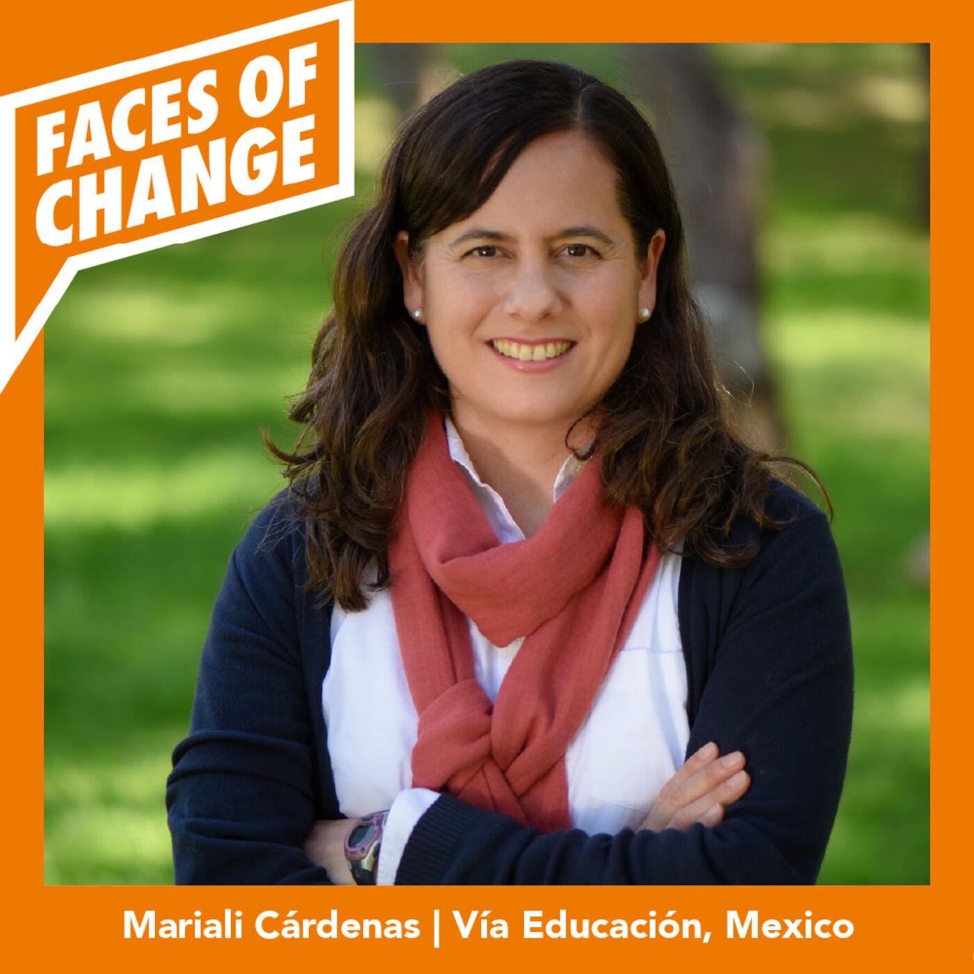 Mariali Cárdenas --- Vía Educación, Mexico