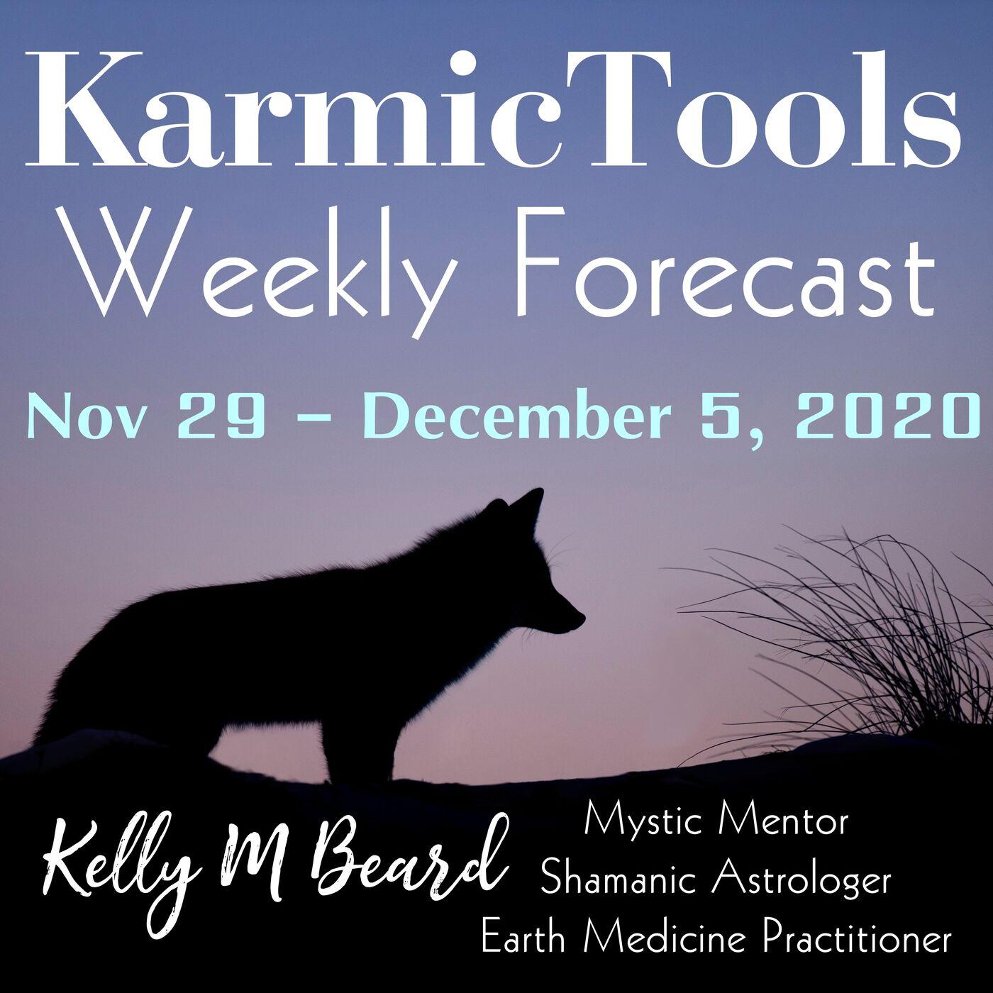 Nov 29 - Dec 5, 2020 KarmicTools Weekly Forecast