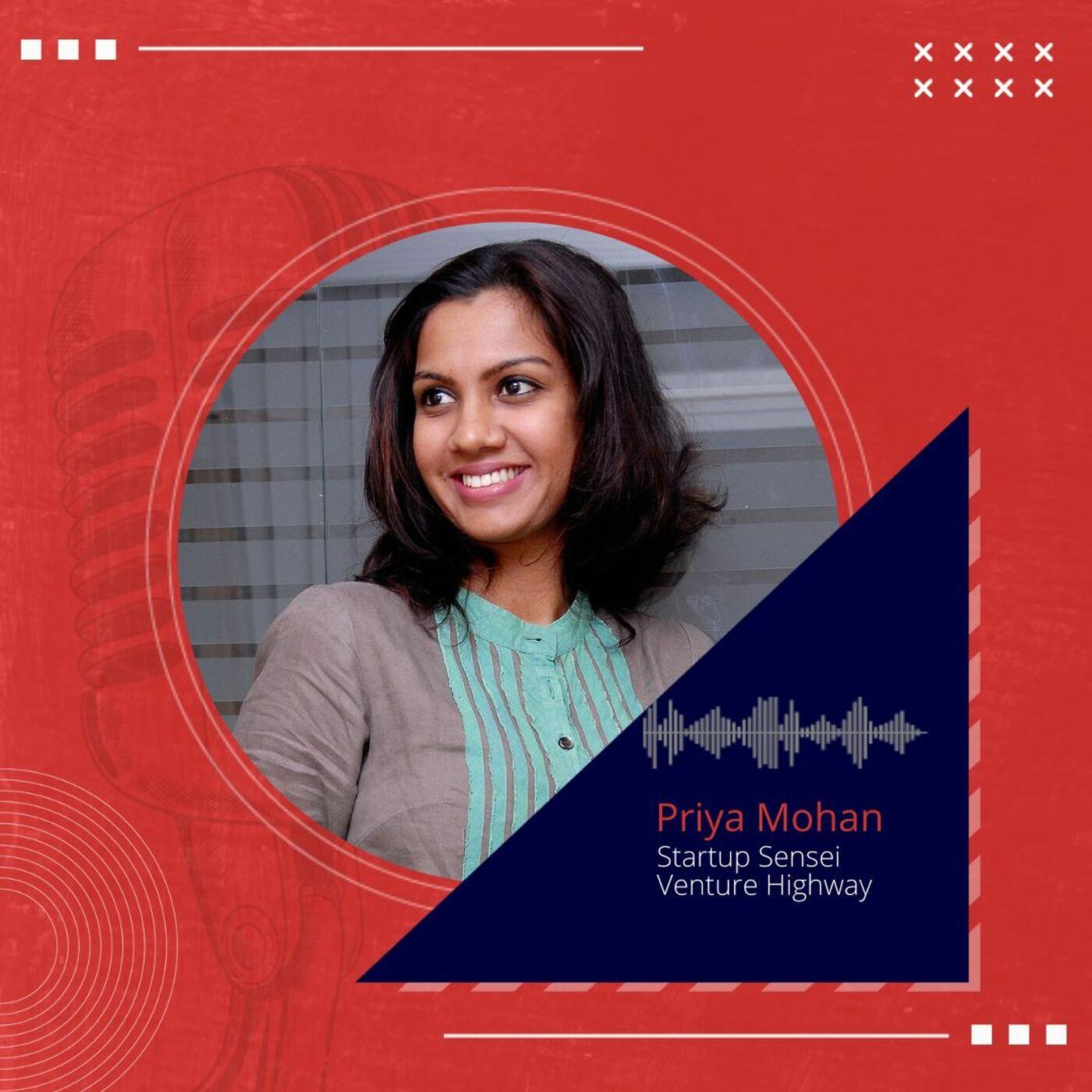 Priya Mohan, Venture Highway on breaking the glass ceiling- being a woman leader in Venture Capital