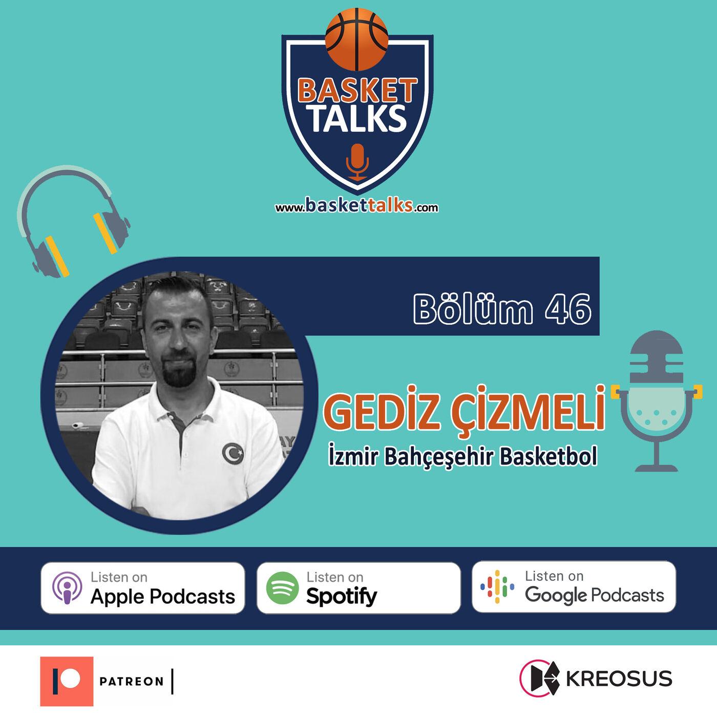 46  / GEDİZ ÇİZMELİ- İzmir Bahçeşehir Koleji Basketbol