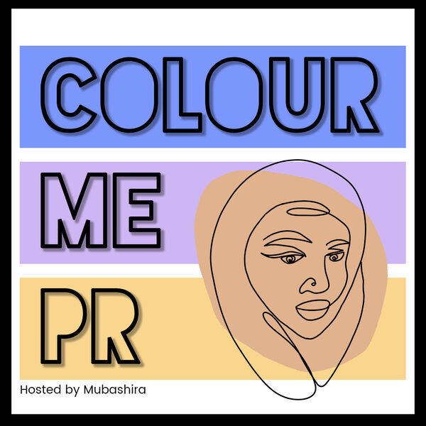 Colour Me PR Podcast Artwork Image