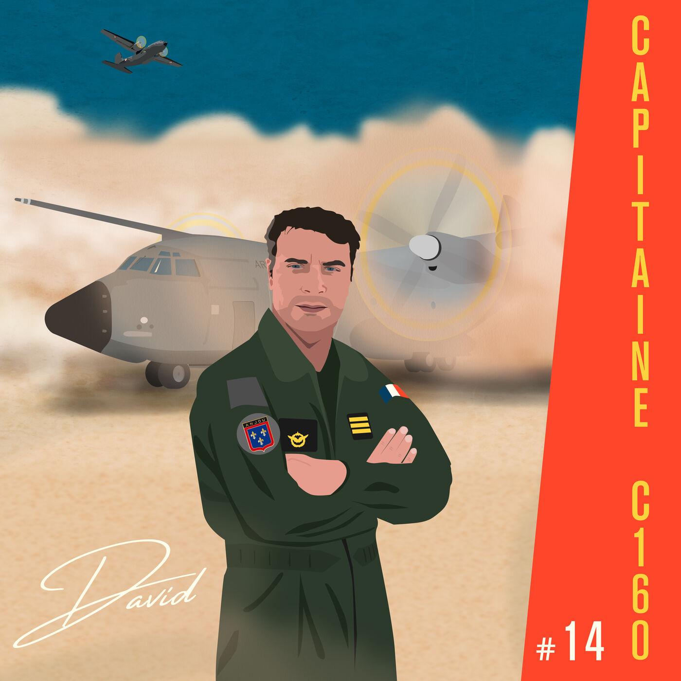 David, transporteur dans l'Armée de l'Air