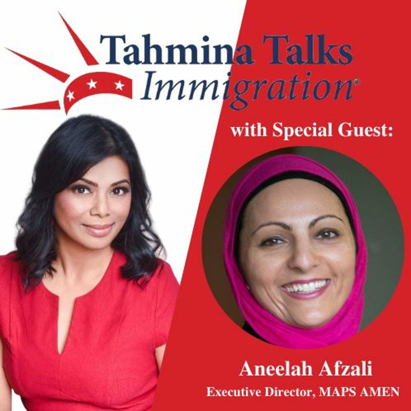 #112 Legal Heroes Series- Aneelah Afzali, Founder & Executive Director, MAPS AMEN