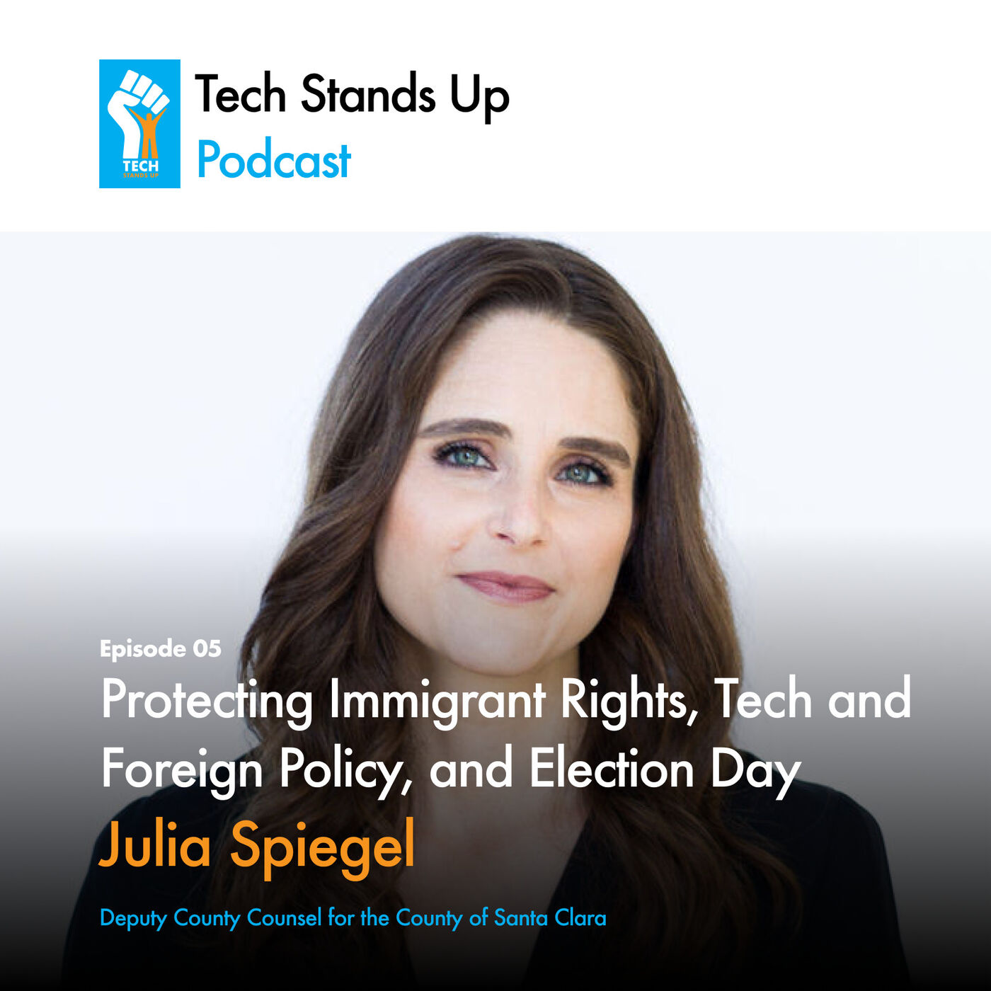 Julia Spiegel: Protecting Immigrant Rights, Tech and Foreign Policy, and Election Day