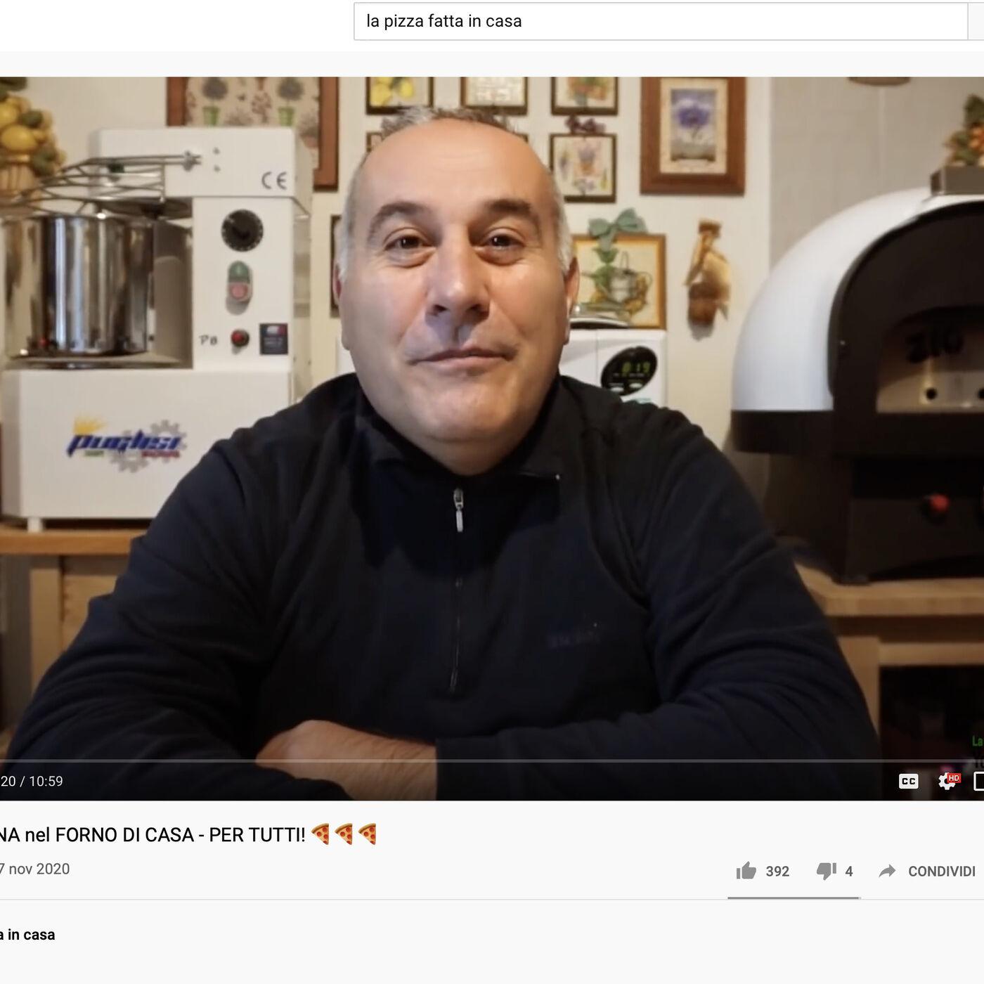"""Ep.1 - """"La pizza fatta in casa"""" con Sergio"""