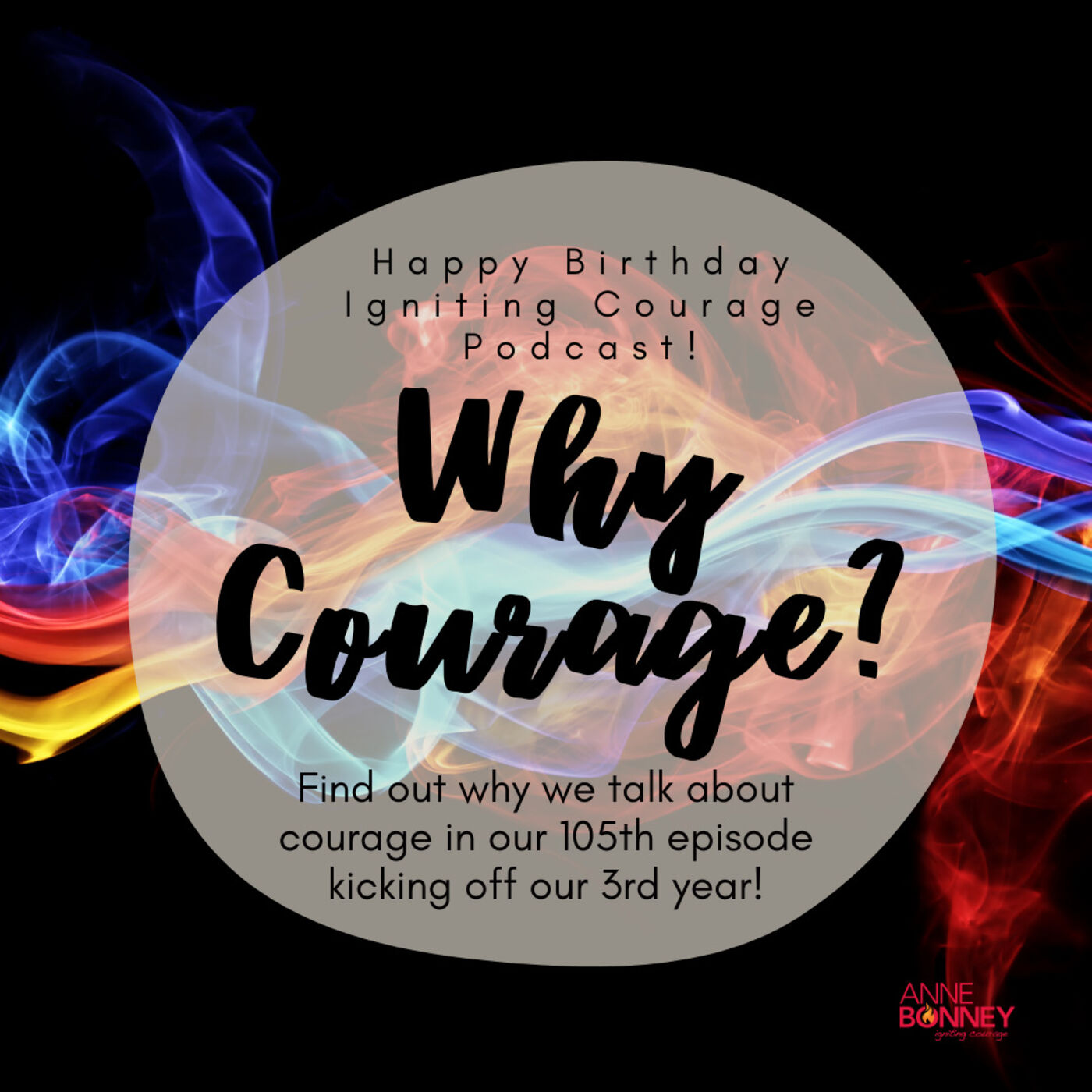 IGNITING COURAGE Podcast Episode 105: Why Courage?