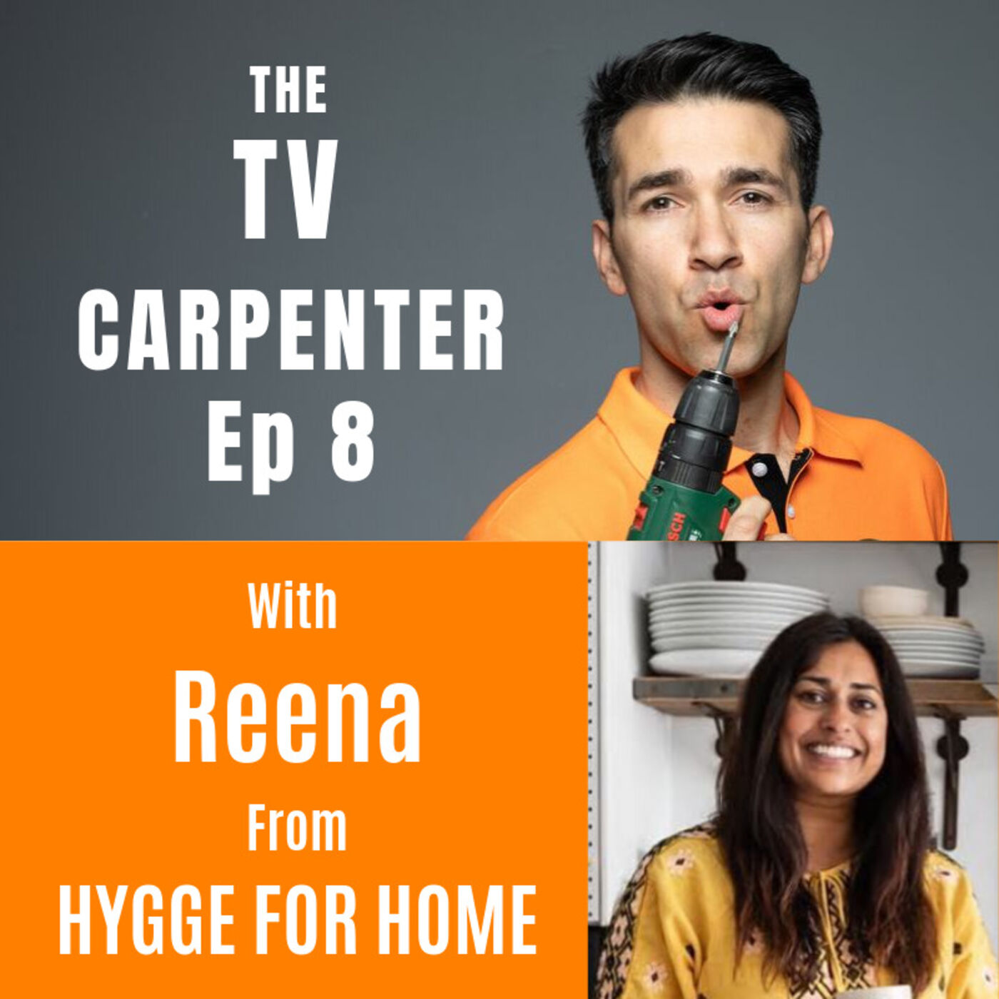 Wayne chats with Reena from Hygge for Home
