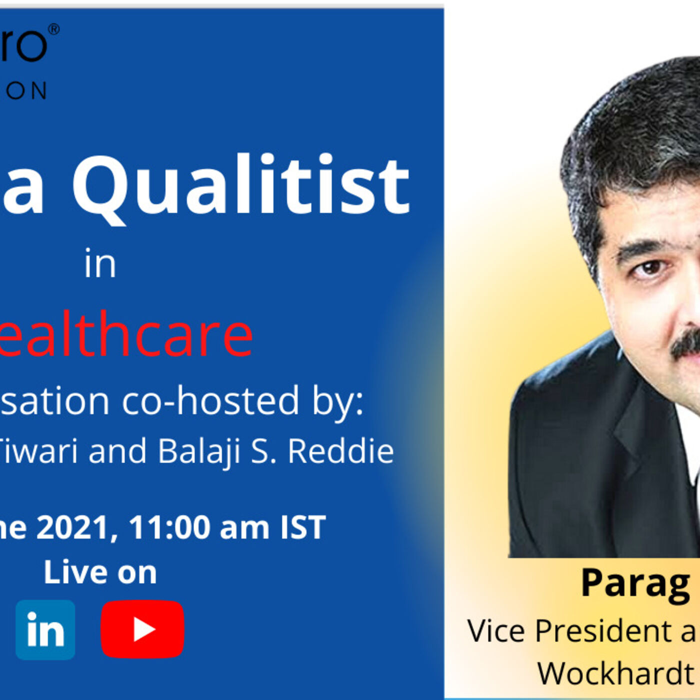 Qualitist - Dr Parag Rindani on Quality in Healthcare
