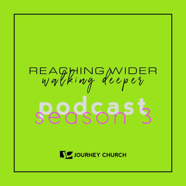 Reaching Wider / Walking Deeper Podcast Artwork Image