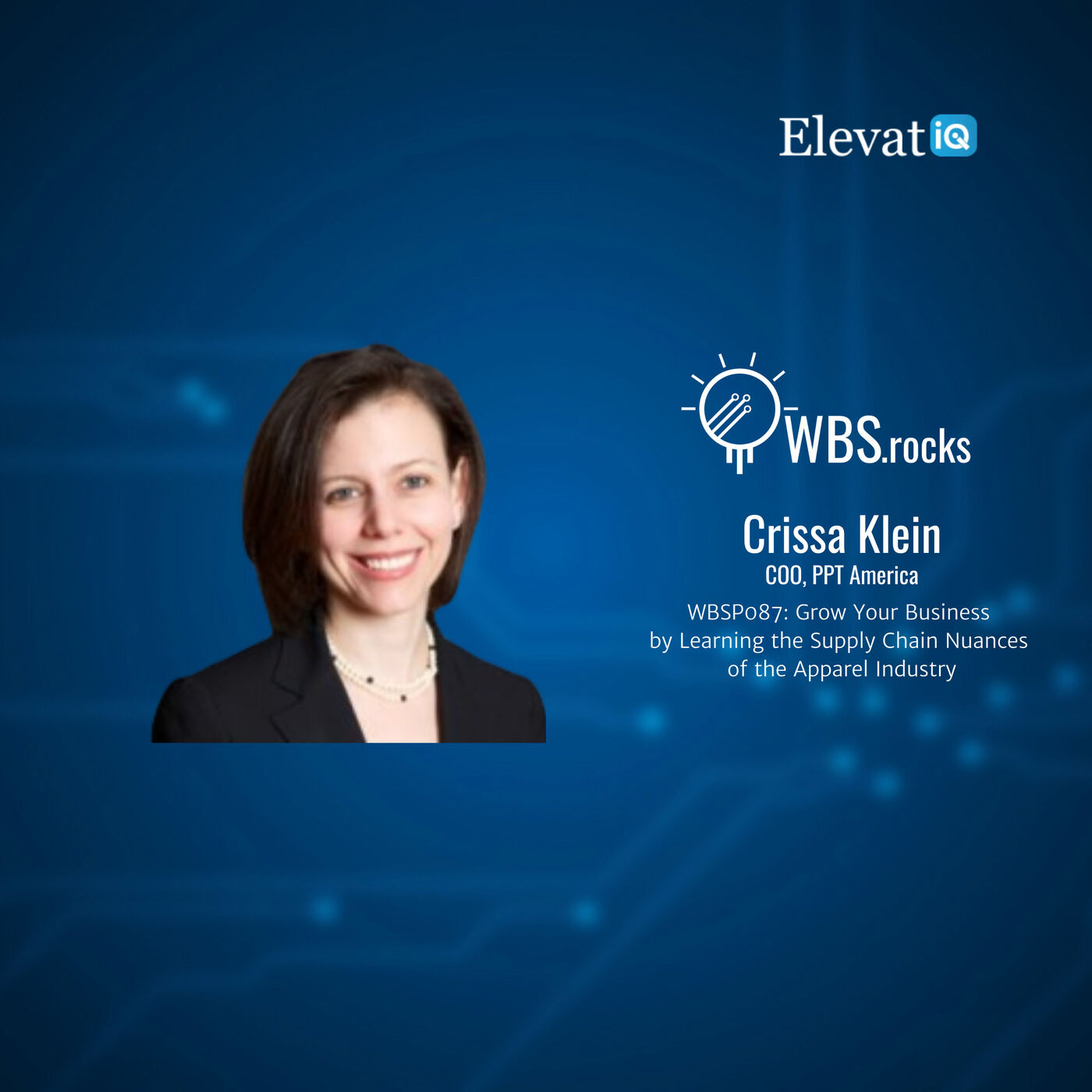 WBSP087: Grow Your Business by Learning the Supply Chain Nuances of the Apparel Industry w/ Crissa Klein