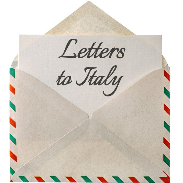 Letters to Italy Podcast Artwork Image