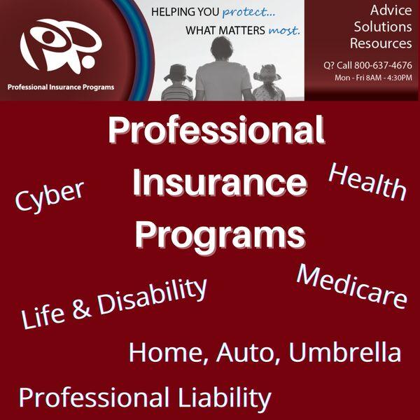 Professional Insurance Programs - www.insuranceformembers.com Podcast Artwork Image