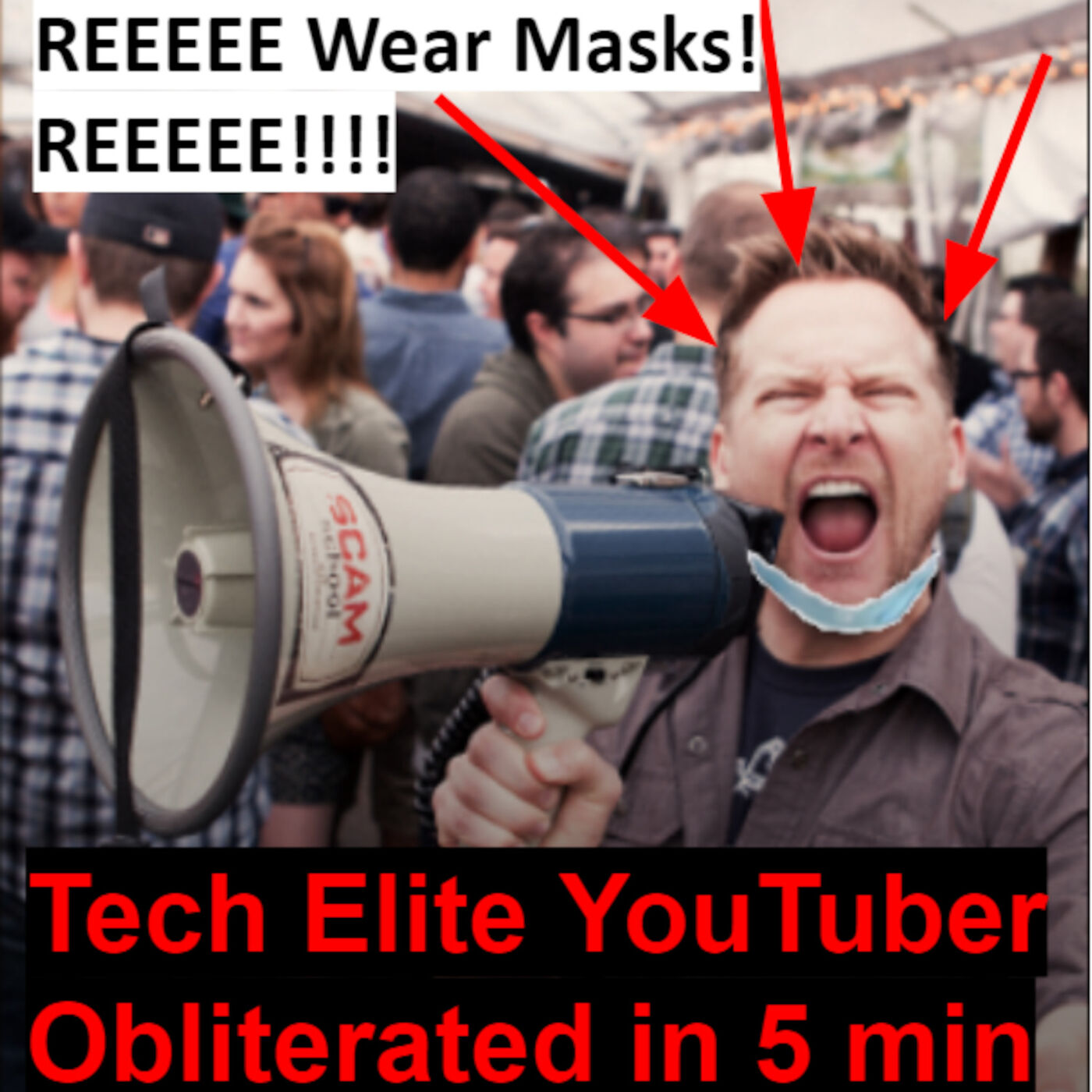 0033 Sir Gene Speaks - Gene Slays Youtuber on Masks!