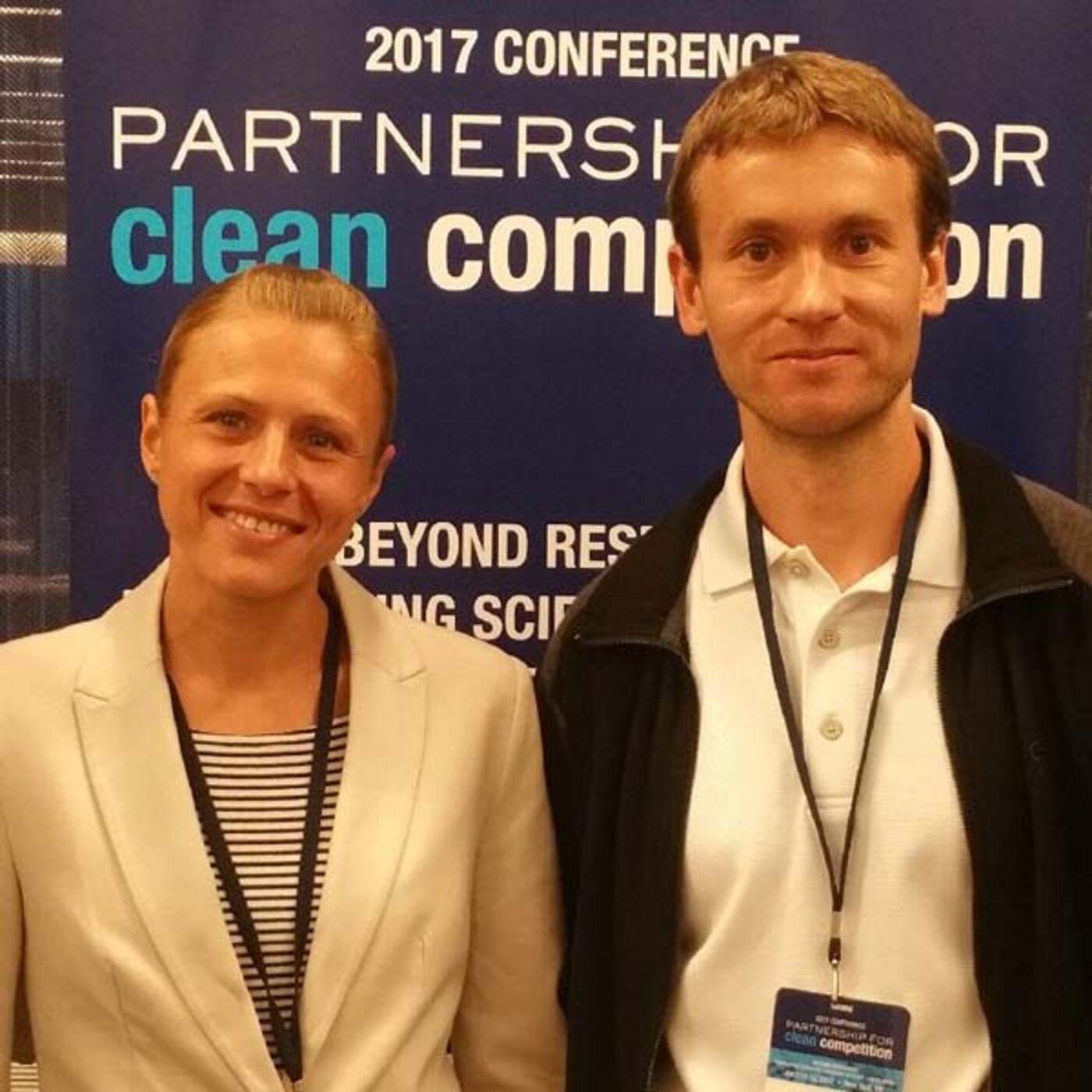 Ep 249 - Russian doping whistleblowers Yuliya and Vitaly Stepanov (Part 1)