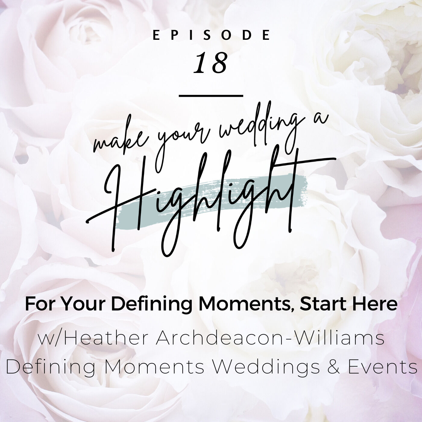 For Your Defining Moments, Start Here