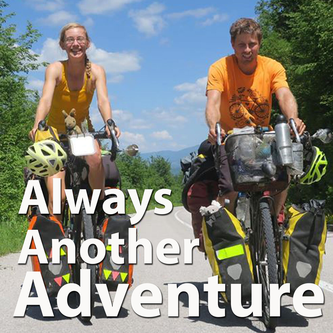 29. Chris Pountney & Dea Jacobson. Cycling the world, twice