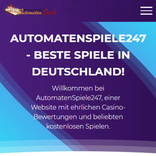 AutomatenSpiele247 das beste Glücksspielportal in Deutschland 2021 Podcast Artwork Image