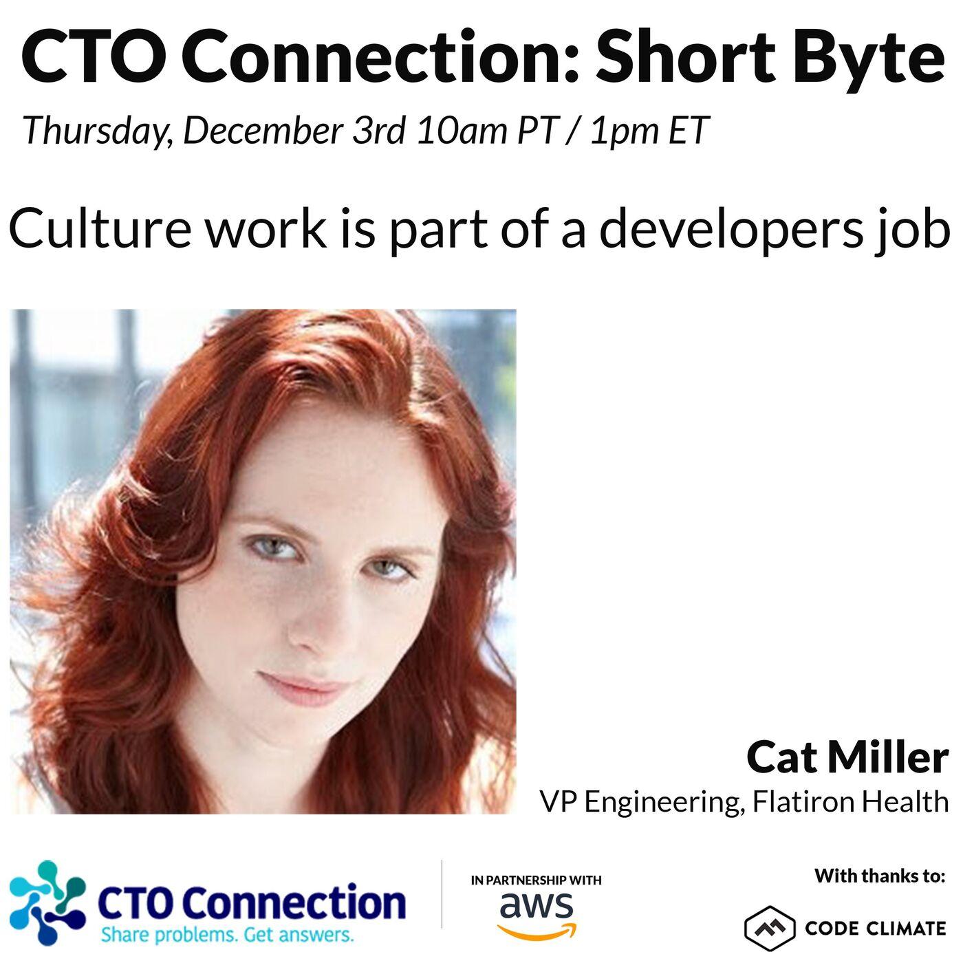 Short Byte: Cat Miller 12/3/20