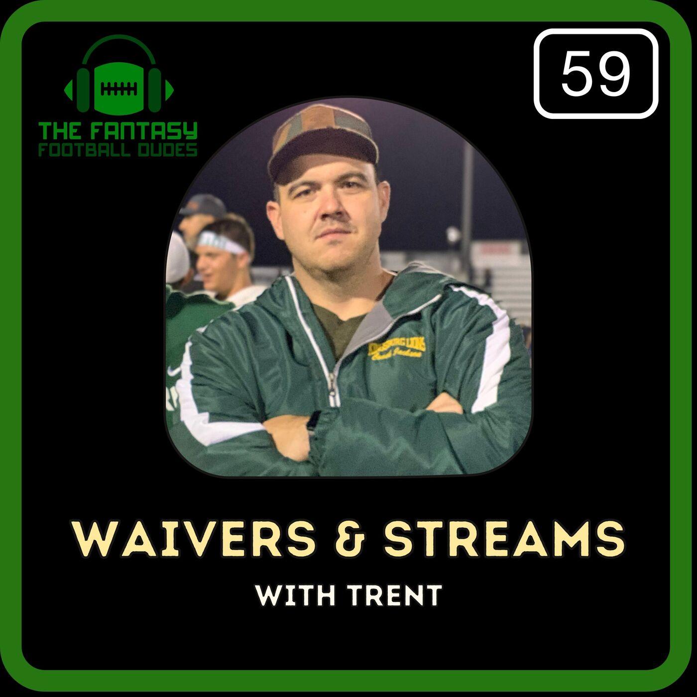 Waivers & Streamers Week 7