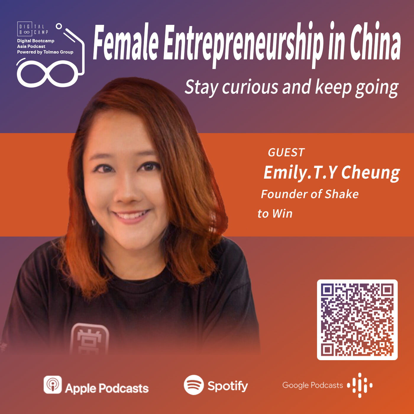 Female Entrepreneurship in China with Emily.T.Y Cheung, Founder of Shake to Win