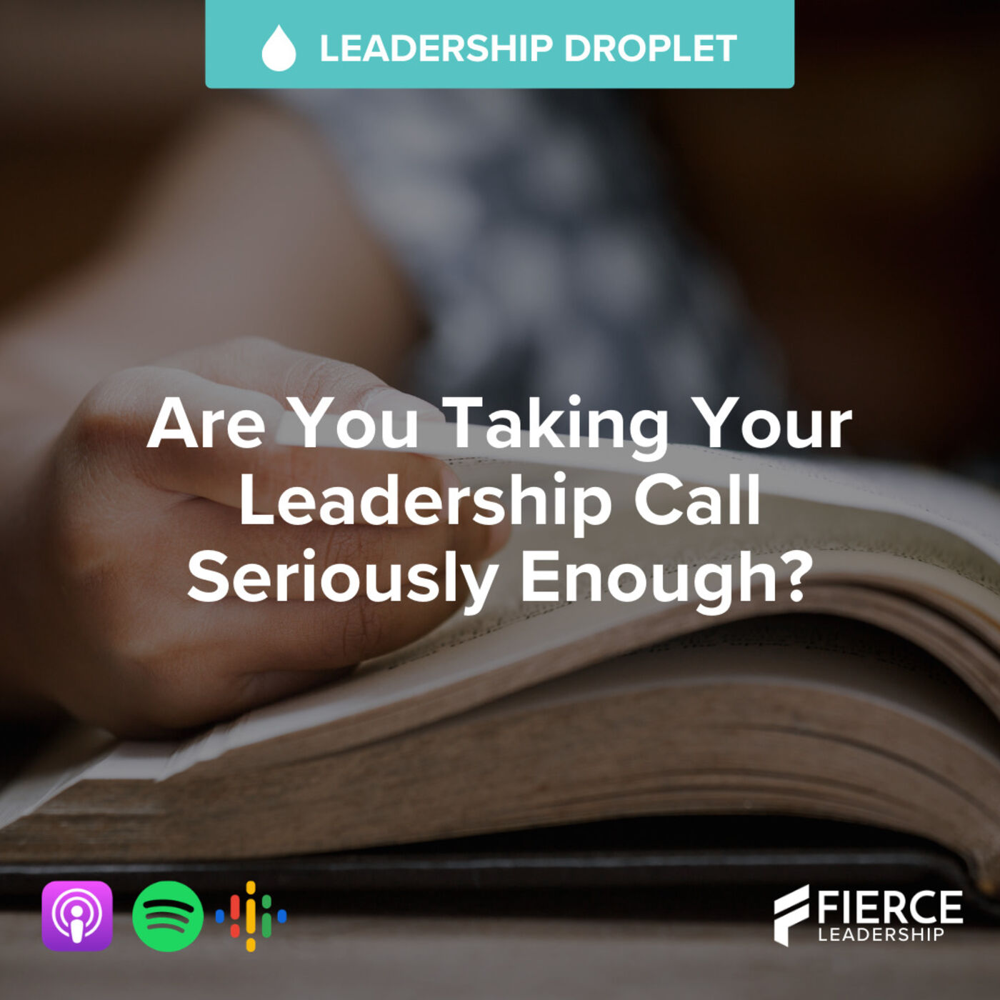 Are You Taking Your Leadership Call Seriously Enough? | FLP Droplet