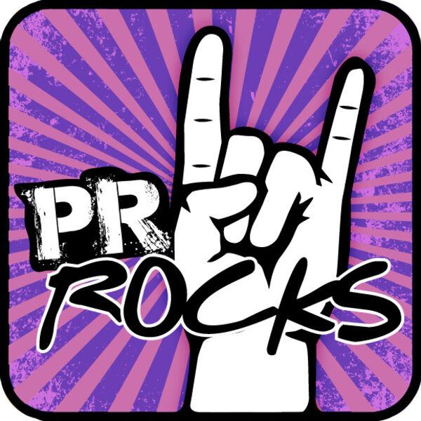 PR Rocks Podcast Artwork Image