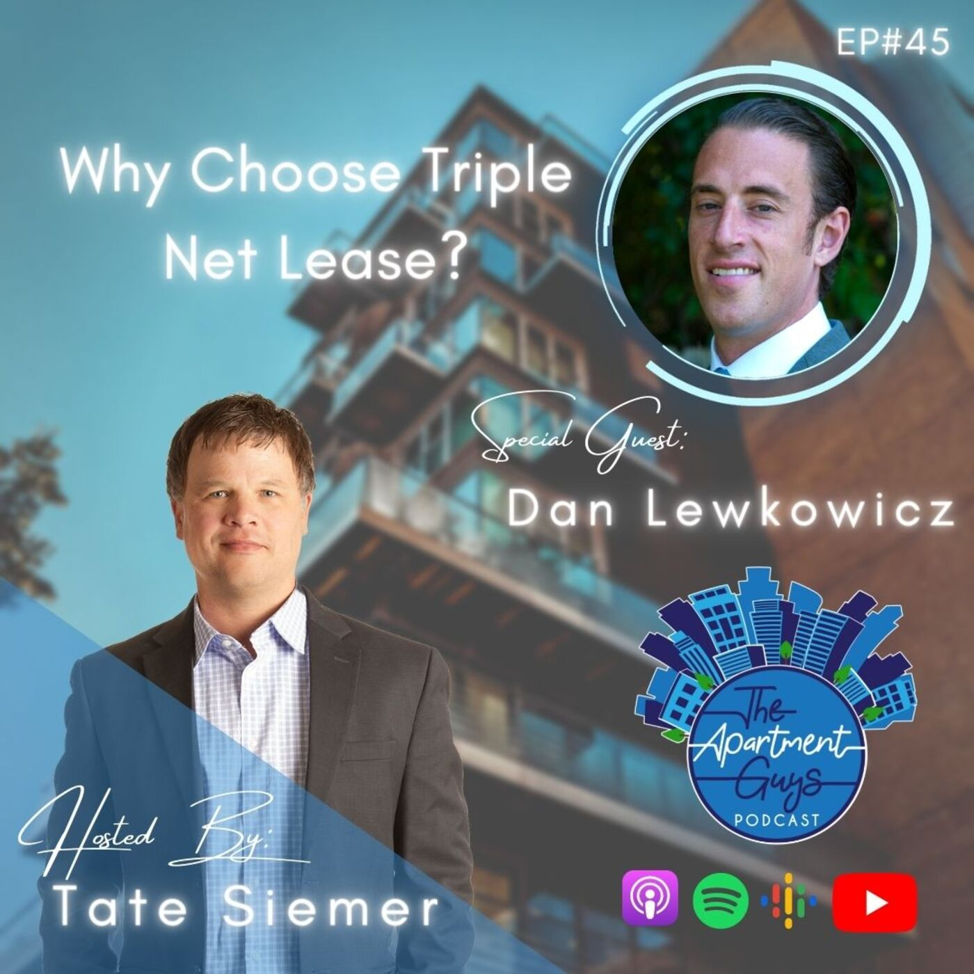 Episode 045: Dan Lewkowicz - Why Choose Triple Net Lease