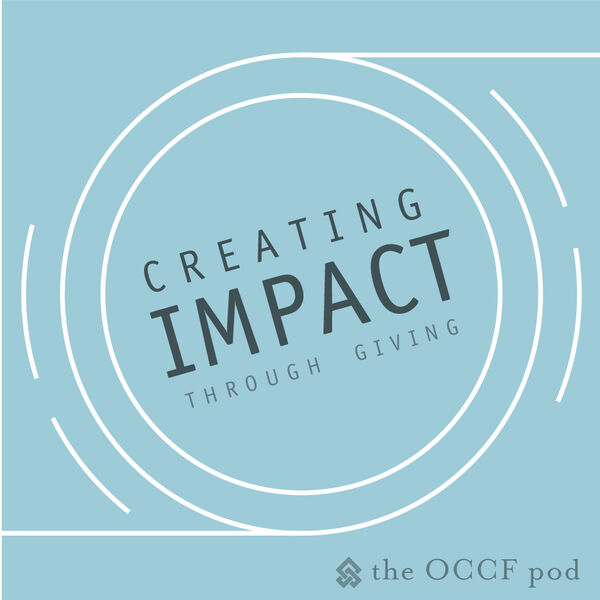 Creating Impact Through Giving  Podcast Artwork Image
