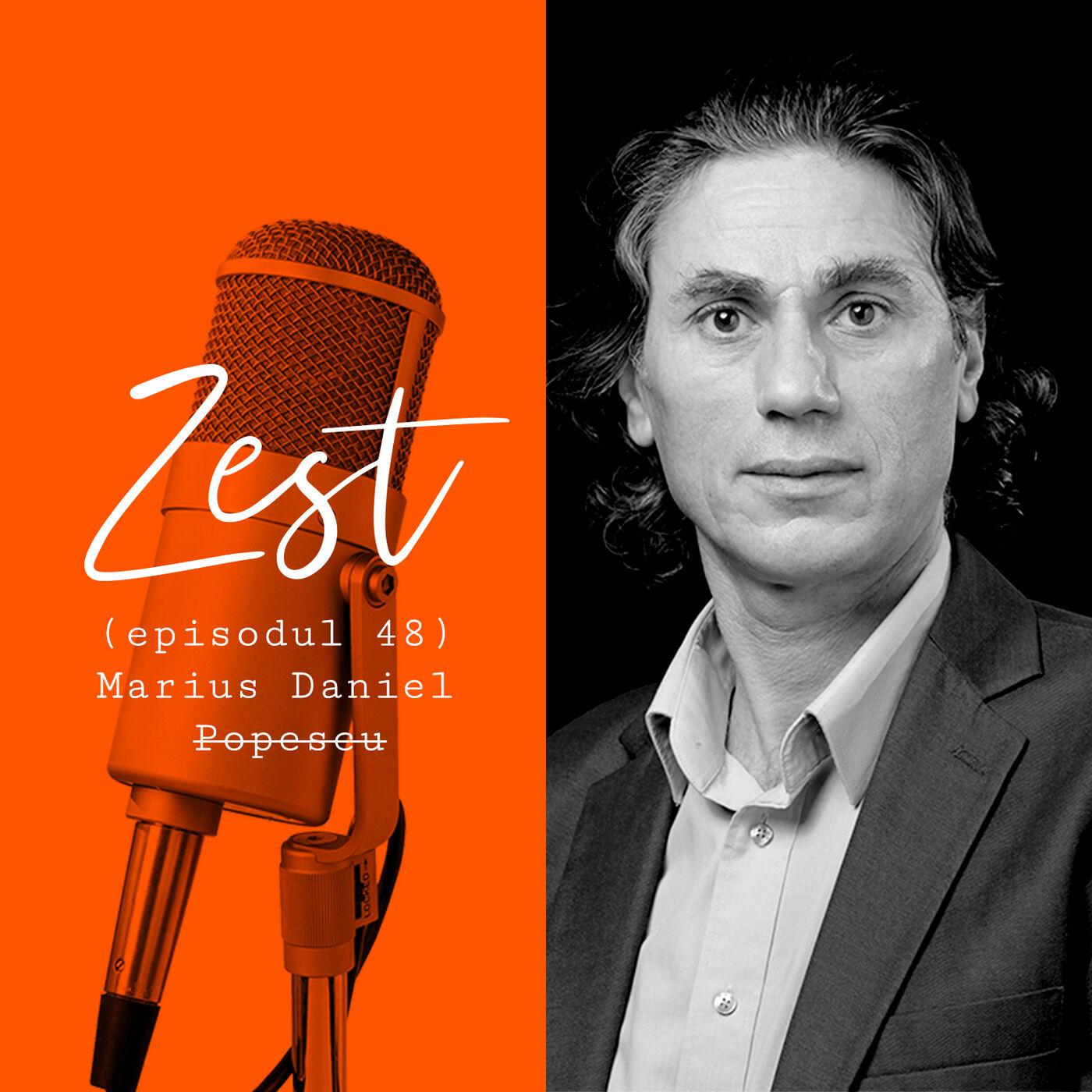 Marius Daniel Popescu: Cel mai important este cititul vieții