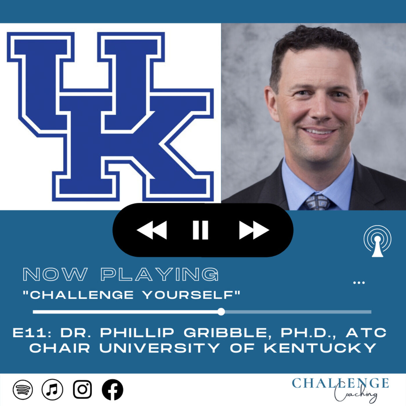 E11: Dr. Phil Gribble: PhD, ATC and Chair, University of Kentucky