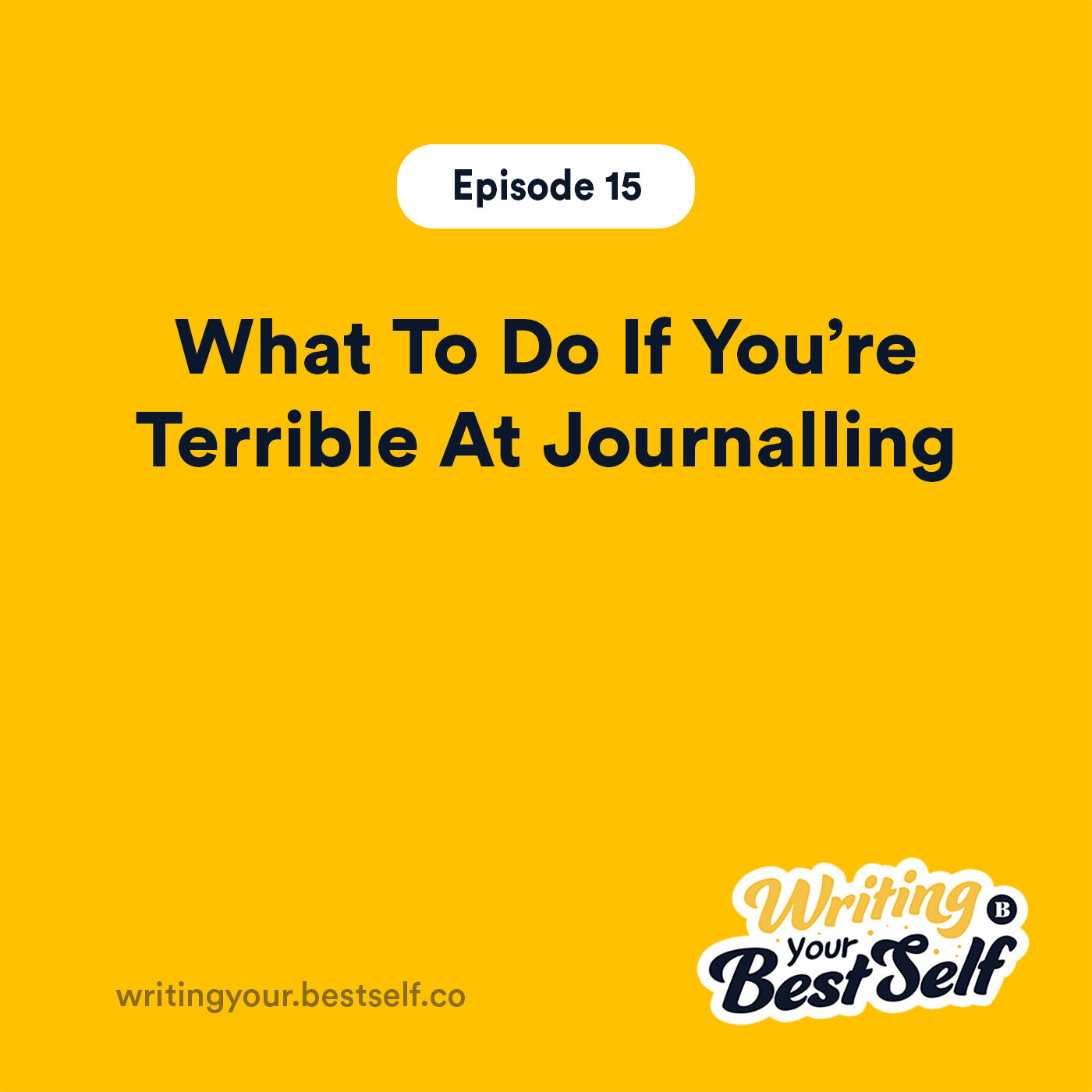What To Do If You're Terrible At Journalling