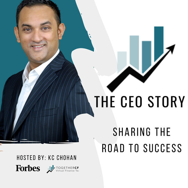The CEO Story Podcast Artwork Image