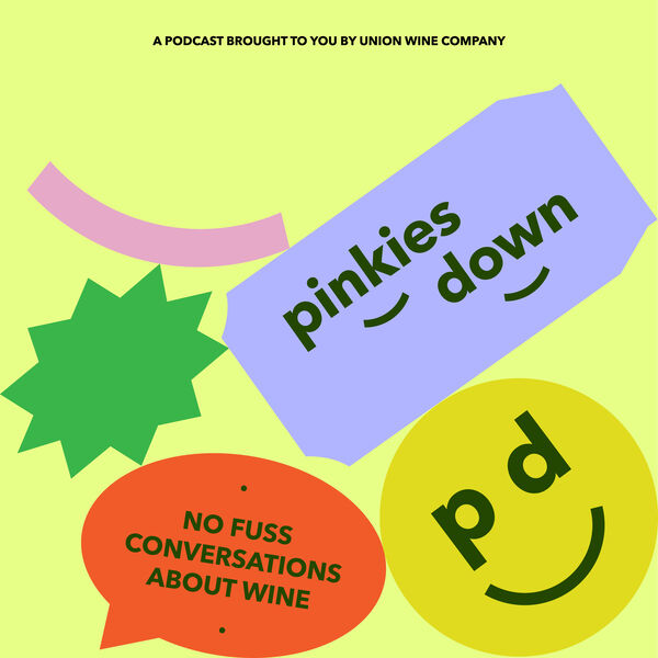 Pinkies Down Podcast Podcast Artwork Image