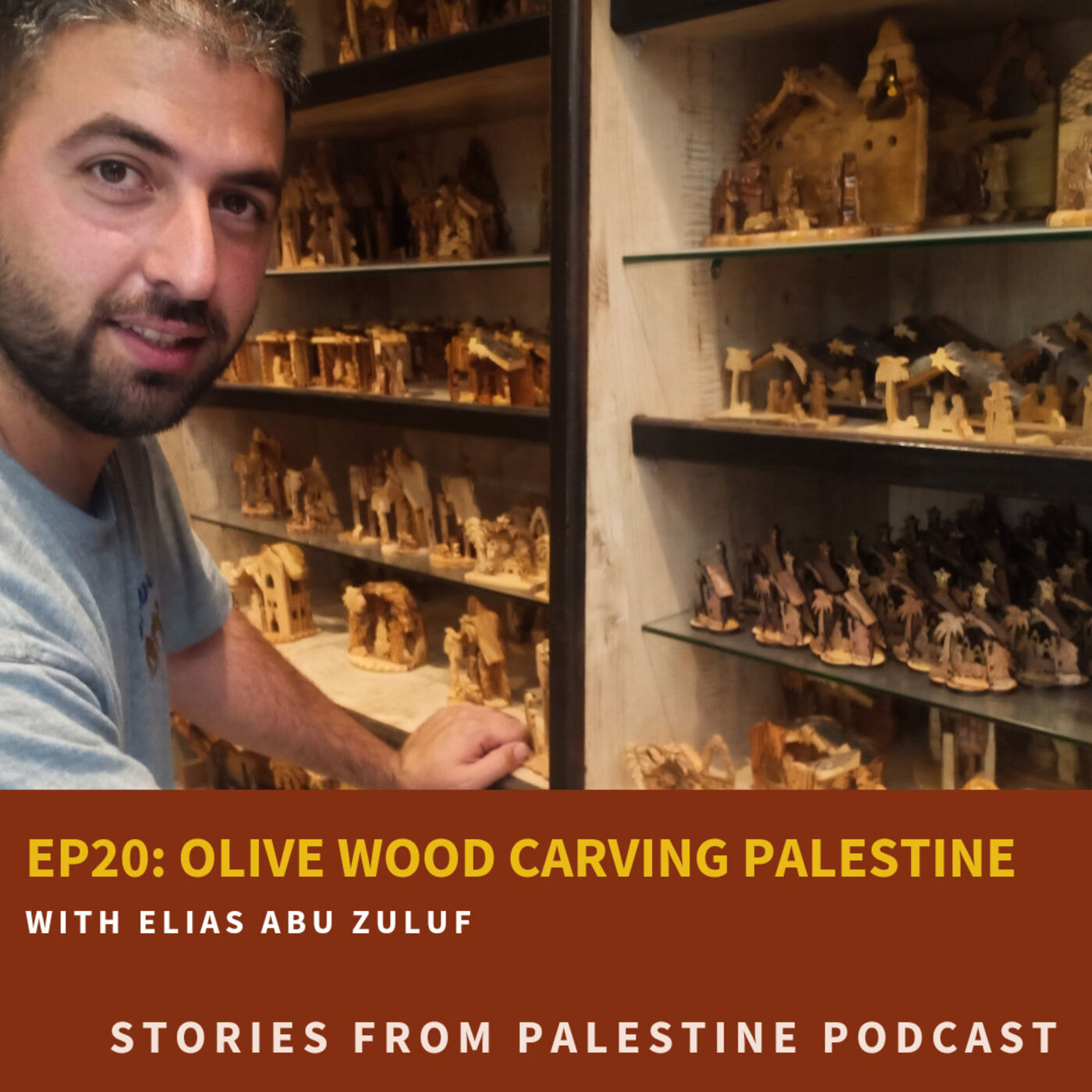 Olive wood carving in Palestine