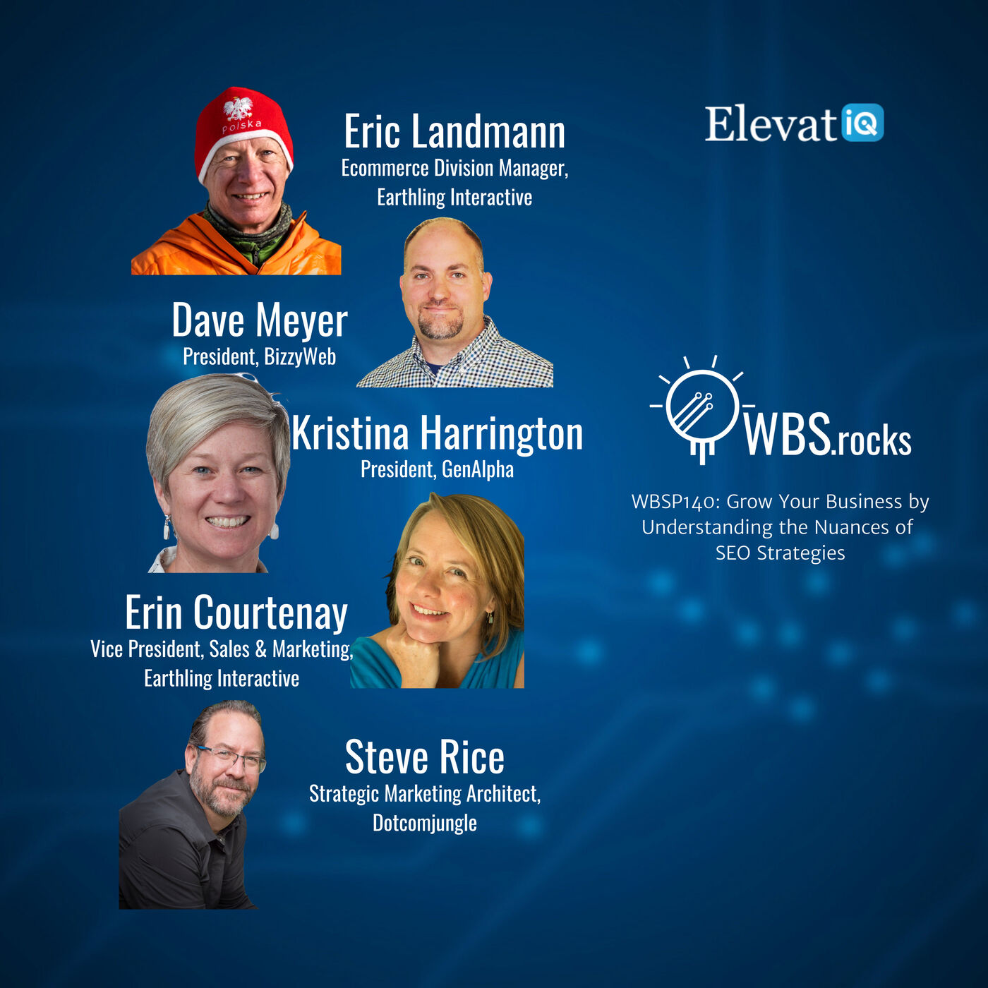 WBSP140: Grow Your Business by Understanding the Nuances of SEO Strategies, a Live Interview w/ a Panel of Experts