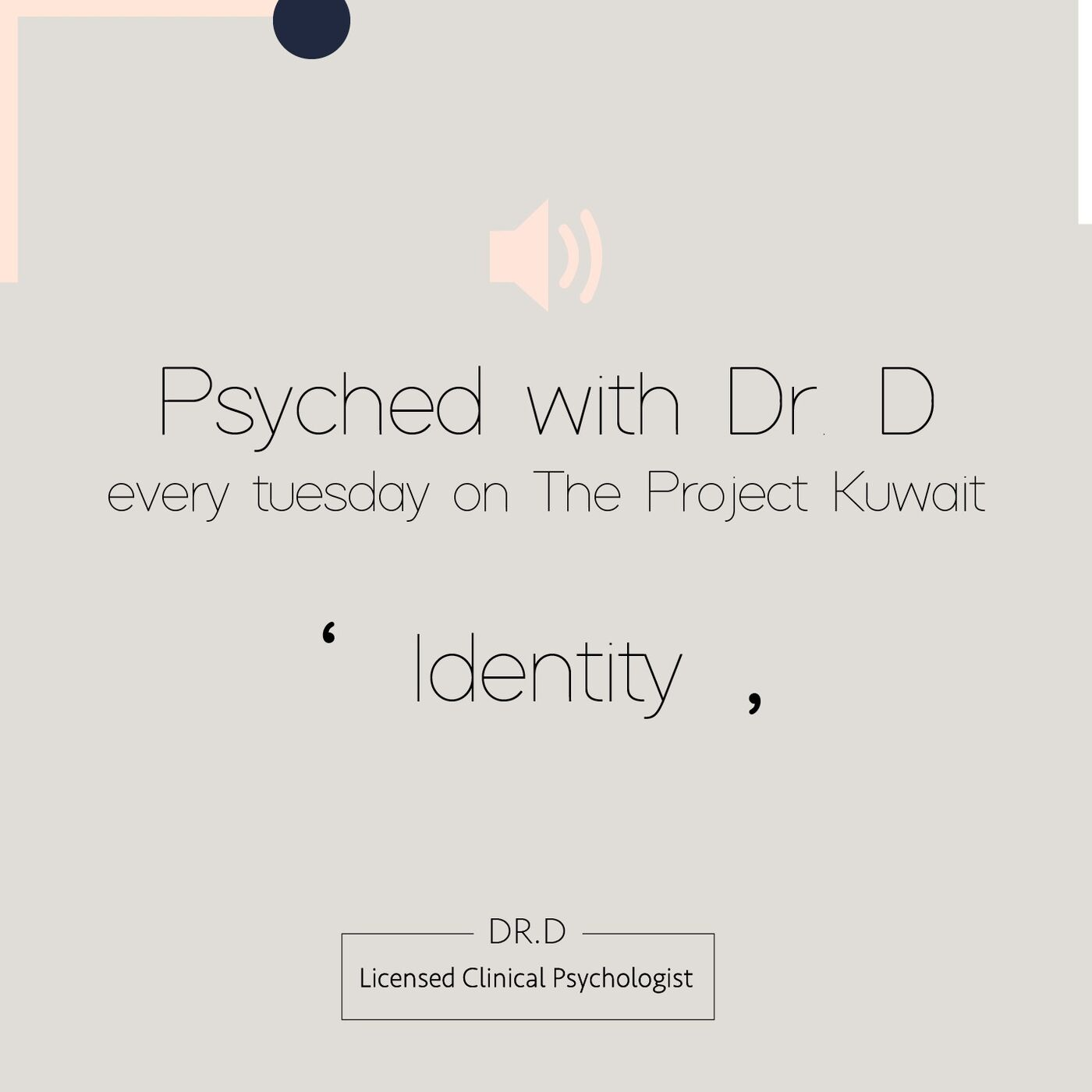 Psyched With Dr. D : Identity Challenge, Crisis or Just Plain Confused? We Discuss Self Discovery, Affiliation with One's Culture and True belonging