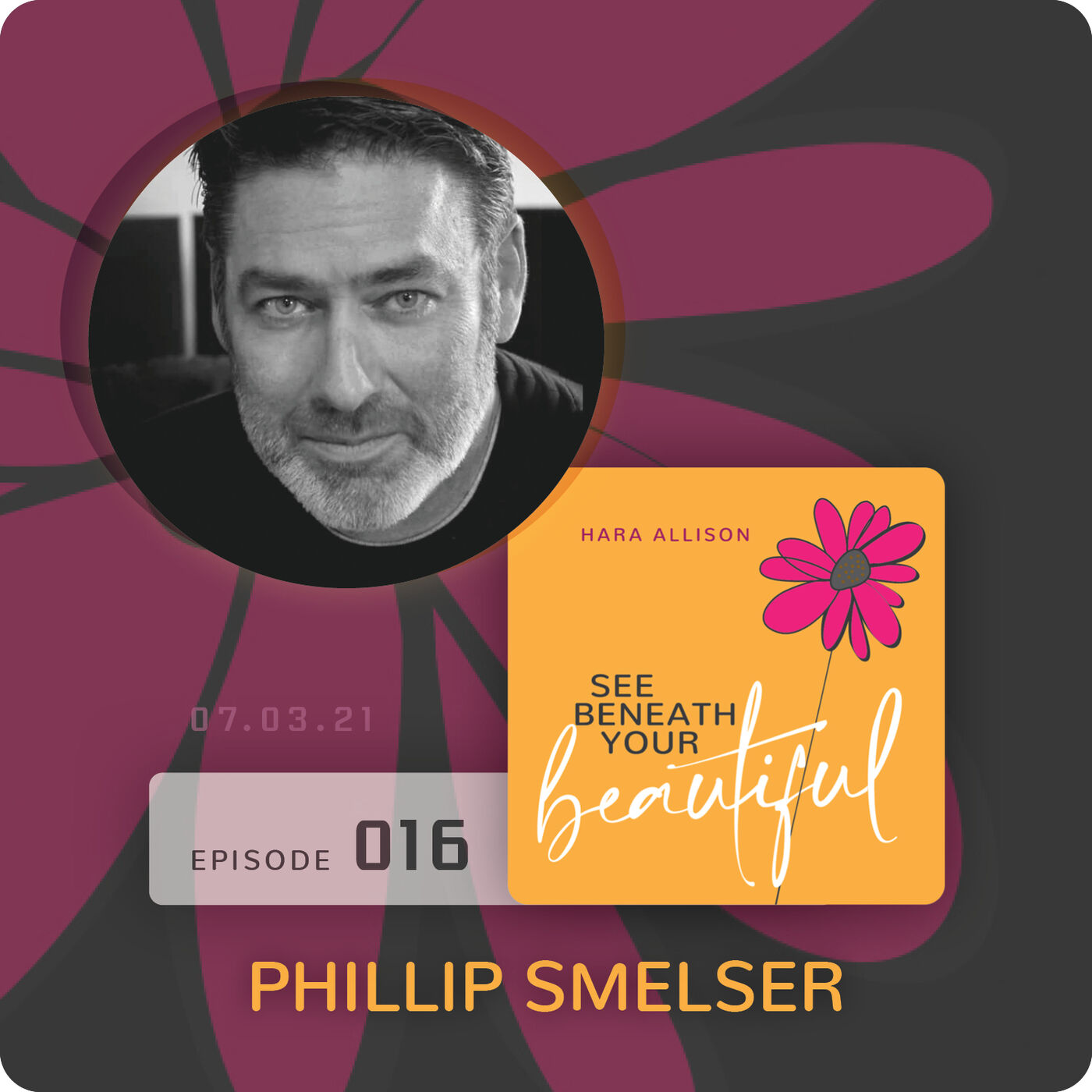 """016. Phillip Smelser discusses being """"very organized"""", super shy as a kid, a Coast Guard veteran, visiting the North Pole, playing kick the can with Russian kids, a faithful fan of auto racing and Zeppelin, a magna cum laude graduate and sobriety"""