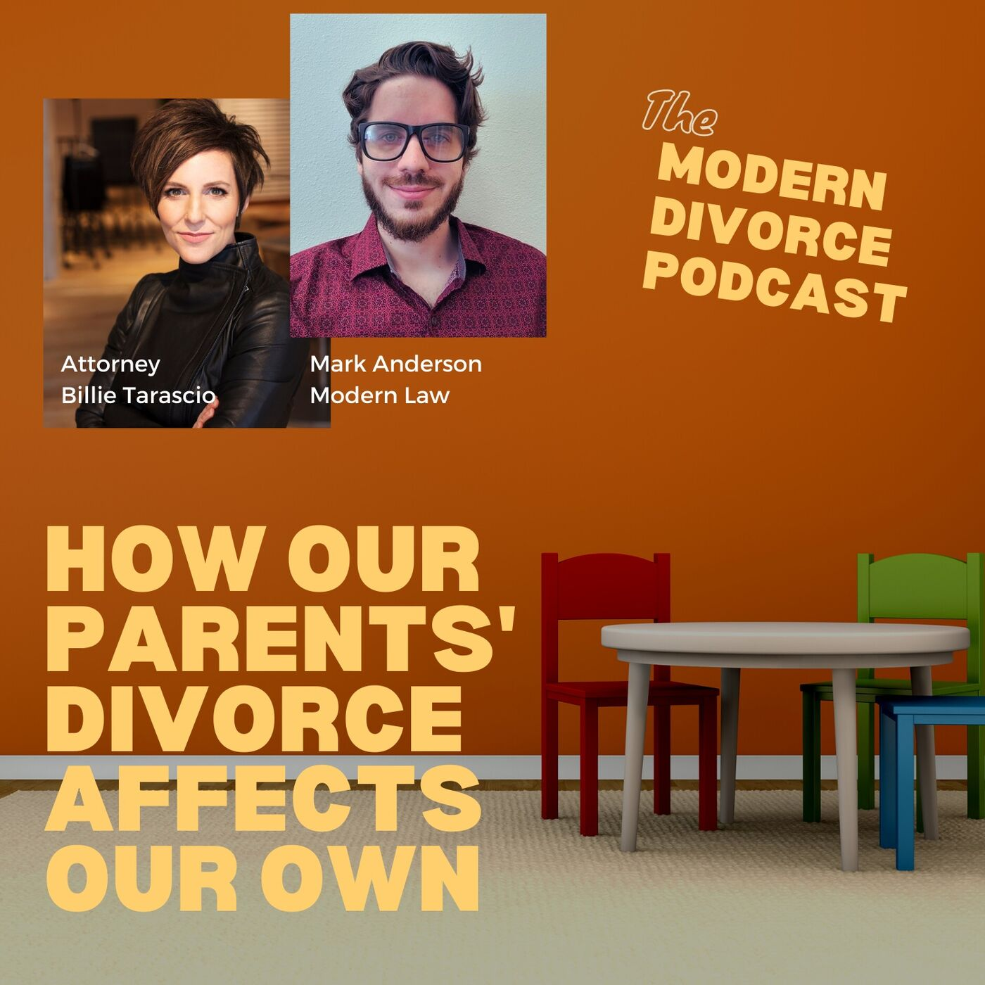 How our parents' divorce affects our own