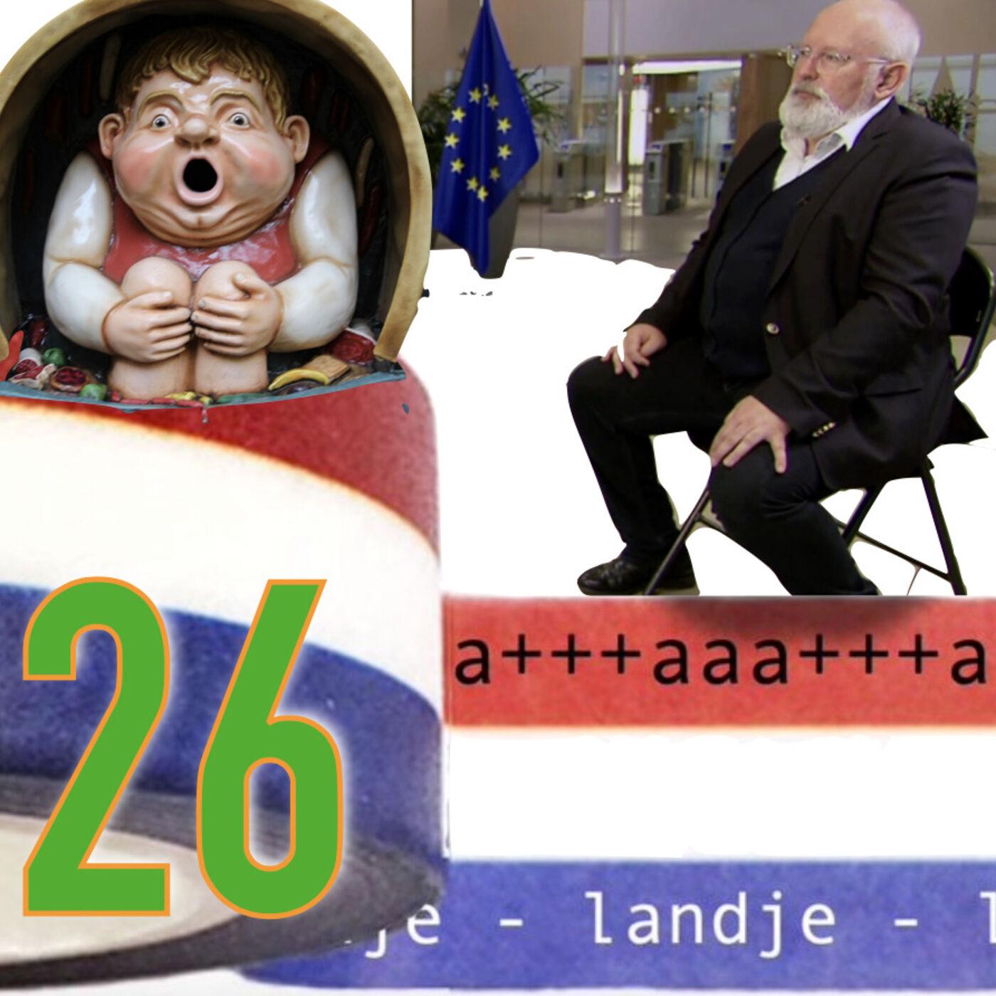 26 - Politiek in de Efteling: zaag het Sprookjesbos om en neem al wobbend de Droomvlucht vooruit naar Holle Bolle Hugo (Radio Coronica komt naar je toe deze zomer)